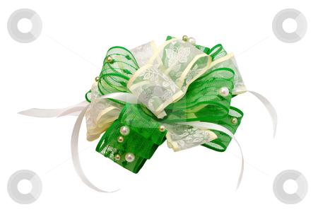Wedding bow  stock photo, Wedding fashionable bow  isolated on white background by Vladyslav Danilin