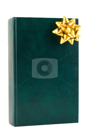Gift book stock photo, Gift book close-up isolated on white background by Vladyslav Danilin