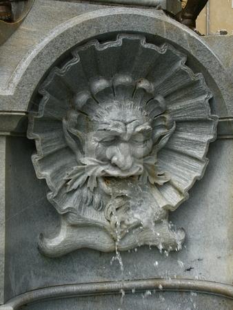 Fountain  stock photo, Brunnen in Innsbruck / fountain in Innsbruck by Thomas K?