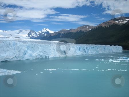 Torres Del Paine Glacier stock photo, Glacier in Torres Del Paine Chile by Giovanna Tucker