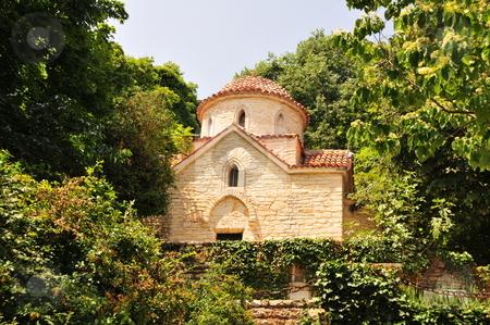 Orthodox chapel in garden of queen Marie of Edinburge  stock photo,  by Zheko Zhekov