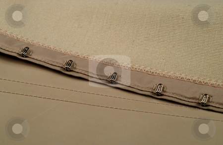 Eyelets and hooks stock photo, Eyelets and hooks used in girdles and in corsets by Albert Lozano