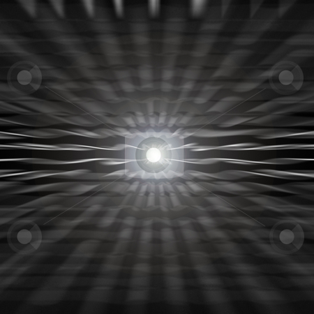 Glowing Vortex stock photo, A glowing vortex with a center lens flare. by Todd Arena