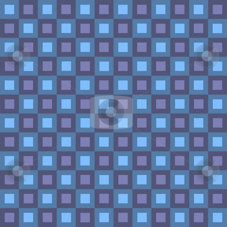Retro Squares Pattern stock photo, Seamless squares texture that works great as a pattern. by Todd Arena