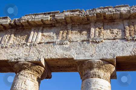Temple of Segesta, wonderful Sicily stock photo, The Doric temple of Segesta (5th century BC, 6 by Roberto Marinello