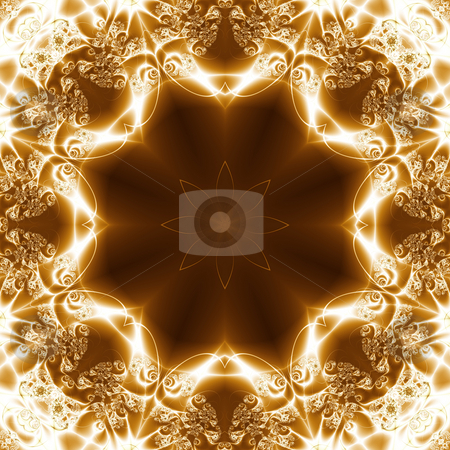 Abstract Light Gem, fractal02R2 stock photo, Abstract Light Gem, geometric pattern generated from a fractal. by Germán Ariel Berra