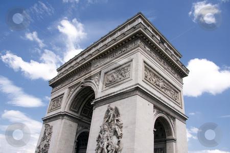 Arc de Triomphe stock photo, Arc de Triomphe in Paris by Ingvar Bjork