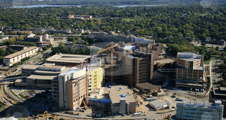 UW-Madison Hospital Addition stock photo,  by Kristopher Strach