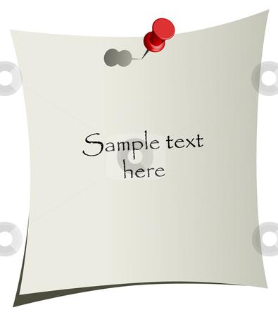 Office reminder - vector illustration stock vector clipart, Office reminder - vector illustration by Adrian Grosu