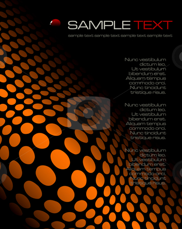 Black abstract composition - vector illustration stock vector clipart, Black abstract composition - vector illustration by Adrian Grosu