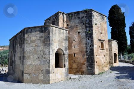 Basilica of Ayios Titos (Saint Titus) stock photo, Travel photography: ancient Basilica of Ayios Titos (Saint Titus) in   Gortyn, Crete, Greece by Fernando Barozza