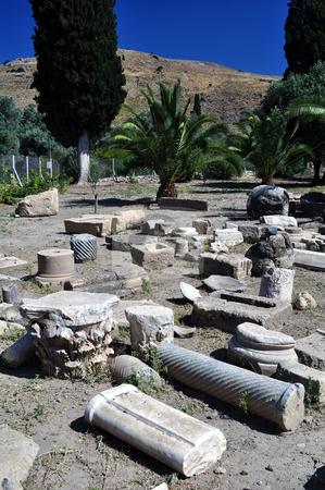Archaeological site of Gortyn, Crete stock photo, Travel photography: Archaeological site of Gortyn, Crete by Fernando Barozza