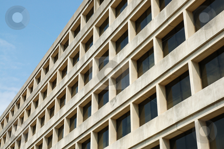 Modern office building stock photo, Detail of modern office building by dcslim