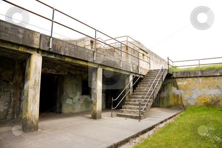 Fort Worden Bunker stock photo, Fort Worden military bunker in Port Townsend Washington. by Travis Manley