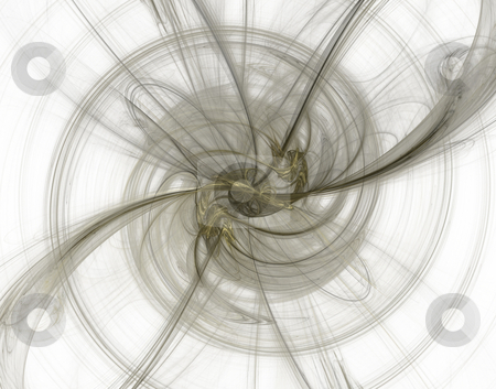Swirl stock photo, Abstract background - swirl on white - illustration by J?