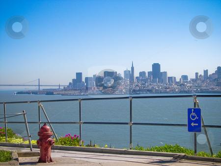 San Francisco stock photo, View of San Francisco from Alcatraz by Jaime Pharr
