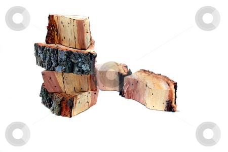 Oaks Wood stock photo, Oak wood for flavorful taste of meats on grill by Jack Schiffer