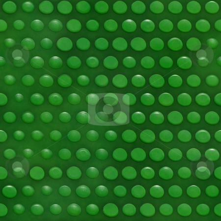 Reptile skin pattern stock photo, Seamless texture of glossy green 3d dots by Wino Evertz