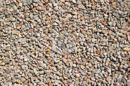 Lots of small colorful stones rubble. stock photo, Lots of small colorful stones rubble. by Stephen Rees