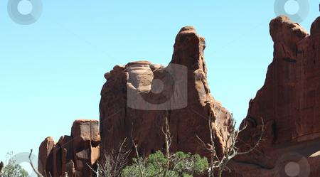 Canyon Formations stock photo, Unusually shaped rocks formed during the creation of the Canyons by Marburg
