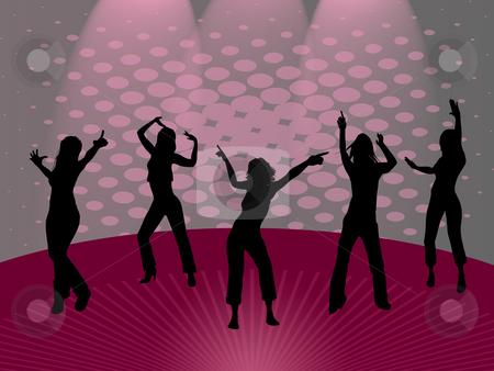 Dancing girls stock photo, Dancing girls by Minka Ruskova-Stefanova