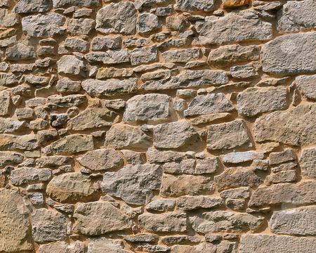 Stone Wall stock photo, Stone Wall by W. Paul Thomas