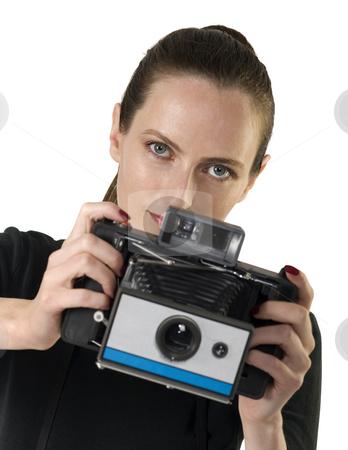 Vintage Camera stock photo, Vintage camera, retro photo by Desislava Draganova