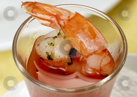 Shrimp stock photo, Shrimp cocktail by Desislava Draganova