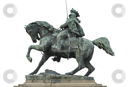 Horseman sculpture stock photo, Sculpture by Desislava Draganova