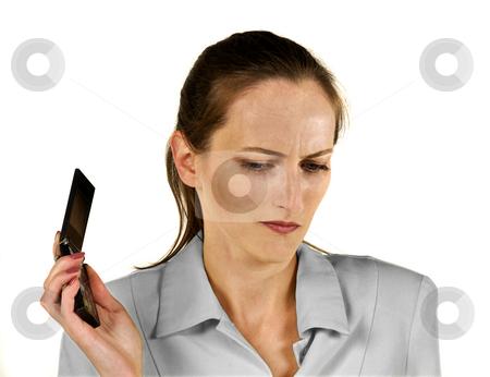 Boredom stock photo, Boredom call businesswoman by Desislava Draganova