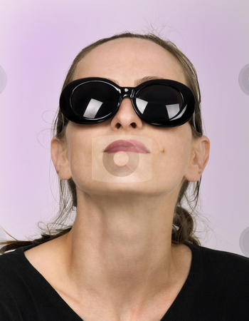 Dark Glasses stock photo, Dark glasses fashion style vogue by Desislava Draganova