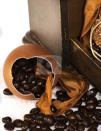 Egg love coffee stock photo, Egg love coffee by Desislava Draganova