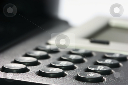 Business Voip Phone stock photo, Internet VOIP Phone, key pad by Andre Janssen