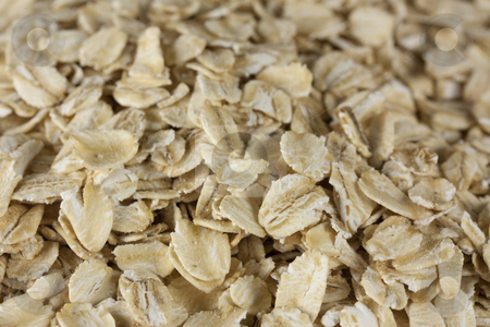 Oatmeal stock photo, A bunch of oatmeal by Patrick Noonan
