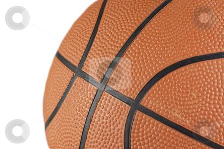 Basketball Closeup stock photo, A closeup of a basketball by Patrick Noonan