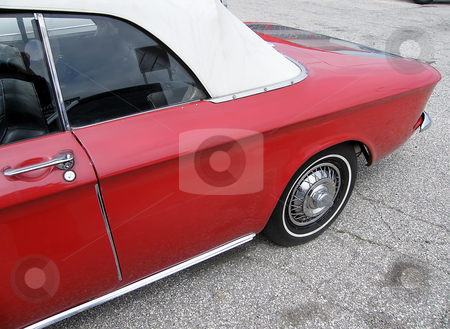 1964 Chevrolet Corvair stock photo, 1964 Chevrolet Corvair Monza 900 Convertible by Dazz Lee Photography