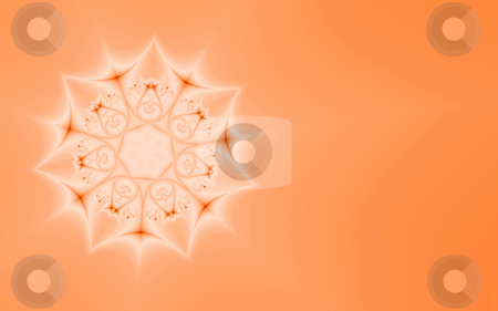 Orange abstract, fractal33e stock photo, Abstract background, generated from a fractal pattern by Germán Ariel Berra