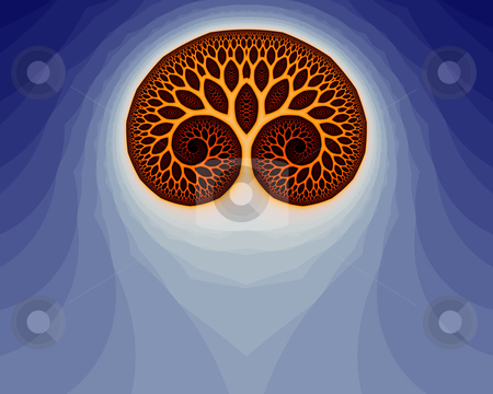 Fractal Brain (29a) stock photo, Abstract fractal illustration, that remainds a human brain. by Germán Ariel Berra