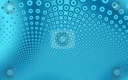 Fractal17c stock photo, Background on a pattern of circles theme by Germán Ariel Berra