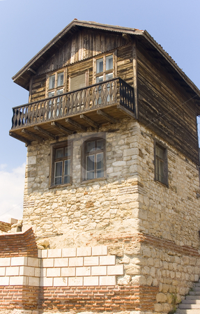 Old house stock photo, Old house in nessebar, bulgaria by Minka Ruskova-Stefanova