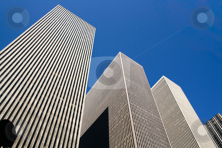 Skyscrapper stock photo, The Rockefeller Buildings in New York City by Alexander Zschach