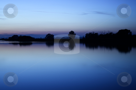 Sunset stock photo, A sunset at the Lake Constance (Bodensee) by Alexander Zschach