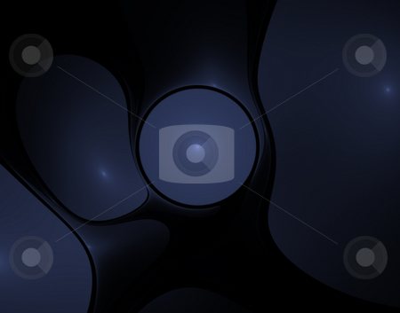 Plastic stock photo, Abstract background - bubble forms - 3d illustration by J?