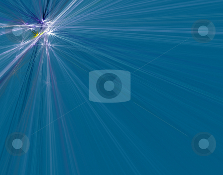Gleam stock photo, Interesting photo of radiation of the quantums, generated by the computer program by citcarsten