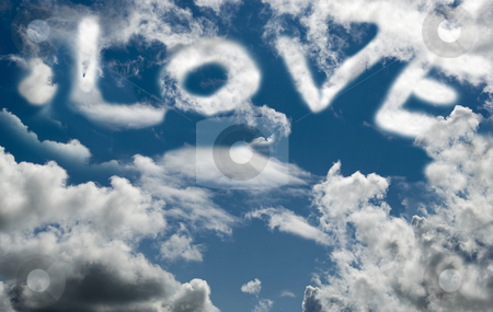 Love stock photo, Love is in the air by Chris Willemsen