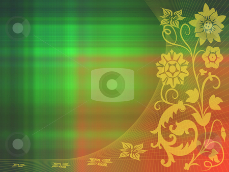 Floral background stock photo, Floral background by Minka Ruskova-Stefanova