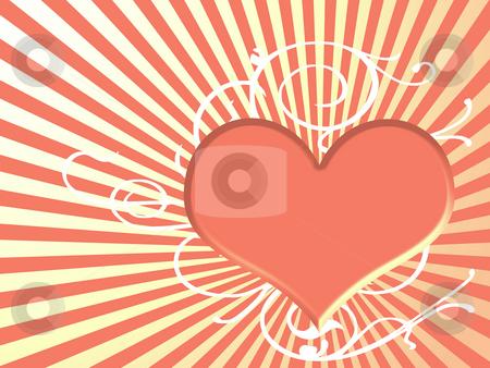 Heart background stock photo, Heart background by Minka Ruskova-Stefanova