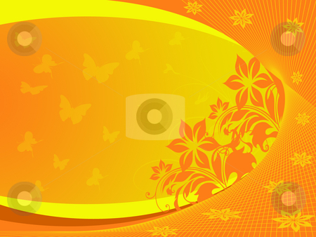 Orange background stock photo, Orange background by Minka Ruskova-Stefanova