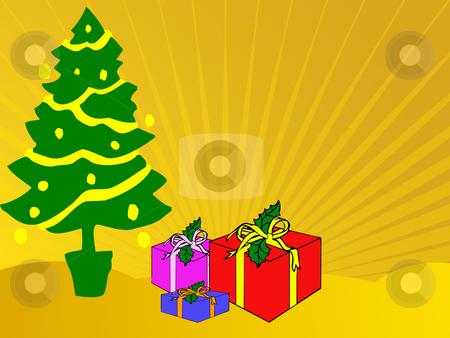 Christmas presents stock photo, Christmas presents by Minka Ruskova-Stefanova