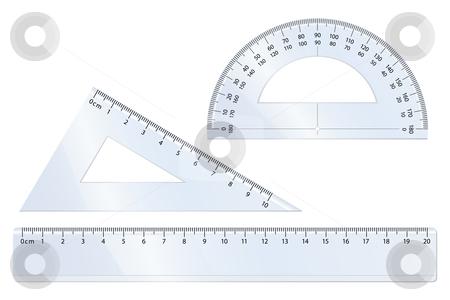 Geometry Set stock vector clipart, Geometry vector set for mathematics by Laurent Renault